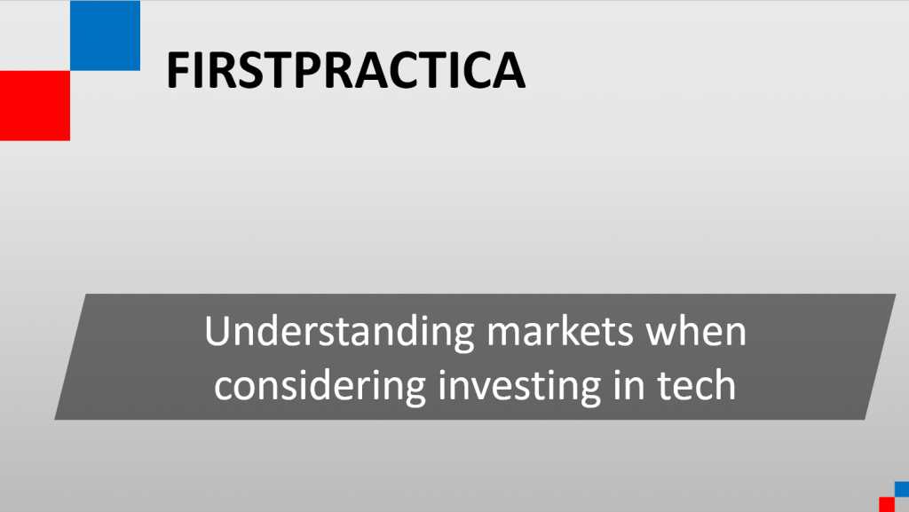 Considerations for tech investors